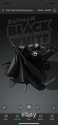 SOLD OUT #100 Todd McFarlane BATMAN VeVe 3D AR NFT SOLD OUT #4365 digital art
