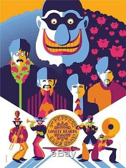 SOLD OUT! BEATLES YELLOW SUBMARINE TOM WHALEN FOLIO 5 PRINTS 18x24 Ed of 797