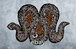 SOLD OUT LIMITED EDITION SUPAKITCH 2019 Ikea Art Event SNAKE area rug NEW