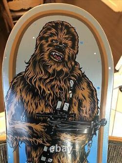SOLD OUT Santa Cruz Star Wars Chewbacca Skateboard Deck