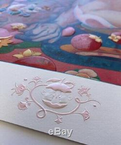 SOLD OUT! Signed & Numbered JAMES JEAN Giclee Art Print Limited Edition