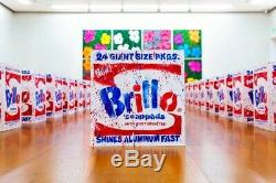 SOLD OUT White BRILLO Box by Madsaki SIGNED! #38/500 with COA. Murakami warhol