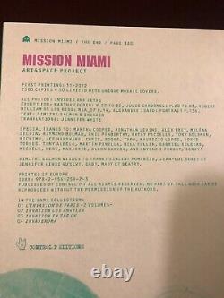 SPACE INVADER Mission Miami Invason Guide soldout (w banksy stik pic)