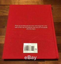 STIK Signed & Doodled Hardcover Book SOLD OUT RARE ART