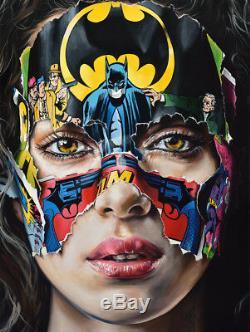 Sandra Chevrier Batman Giclee Print La Cage. Je N'ai Pas Peur Sold Out