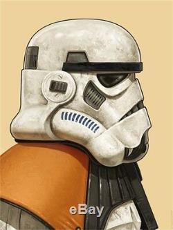 Sandtrooper by Mike Mitchell Sold Out Limted Edition Star Wars Print