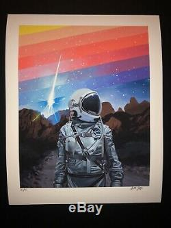 Scott Listfield Art Print Poster Set (2) Rainbow 1 And 2 Giclee S/N Sold Out