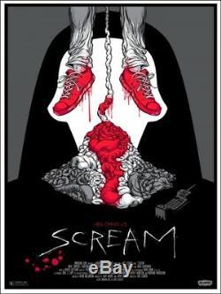 Scream by Alex Pardee Rare Sold out Mondo print