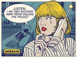 Scream by Gary Pullin Rare Sold out Mondo print