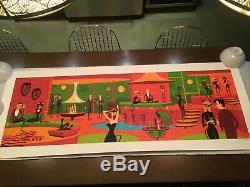 Shag Josh Agle Primal Cuts Serigraph # 42/200 Sold Out Large Print