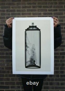 Shok-1 Can Print (Bone) Sold Out Edition Of 80