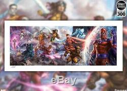 Sideshow Collectibles Art Print X-Men A Legend Reborn UnFramed SOLD OUT