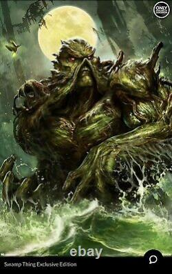 Sideshow Swamp Thing Art Print Unframed LTD 144/250 SOLD OUT