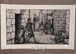 Slaughter of the Innocents Art Print by David Welker Signed #/75 SOLD OUT Maze
