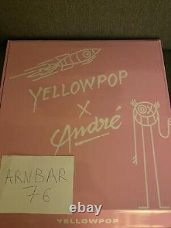 Sold Out André Saraiva X Yellowpop Neuf 80/100 Ex limited edition