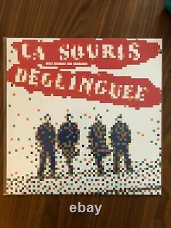Space Invader vinyle la souris déglinguée LP SOLDOUT 2014 (no banksy map print)