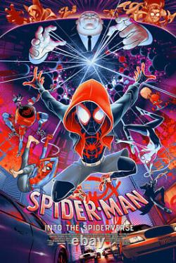 Spider-Man Into the Spider-Verse MONDO (Timed Edition) SOLD OUT