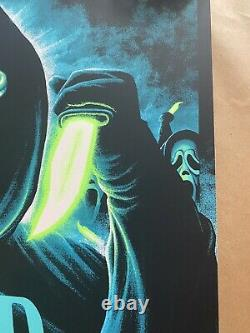 Stab AP Steven Luros Holliday Scream 2 Movie Poster Art Print NT Mondo Sold Out