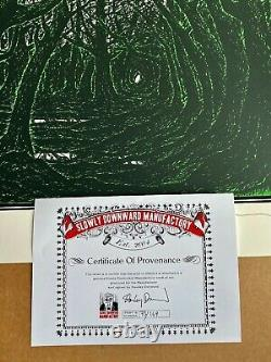 Stanley Donwood'Secret Green Wood' Screen Print, Ed 73/169 Pristine Sold Out
