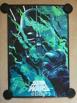Star Wars (Anthony Petrie) SOLD OUT NYCC Variant Print #72/75 Mondo Bottleneck