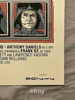 Star wars by Tyler Stout Set of 3 prints Rare Sold out Mondo print