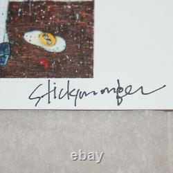 Stickymonger 2021 SIGNED Print Set SOLD OUT Allouche Gallery Postcard Show Card