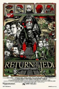 Stout Return of the Jedi Mondo Limited Edition Screenprint SOLD OUT