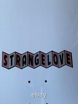 StrangeLove Natas Kaupas Guest Model Deck White 10 Sean Cliver Rare Sold Out