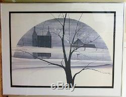 Sugar Valley Farm Sold Out Rare Signed & Numbered P Buckley Moss 1974 Print