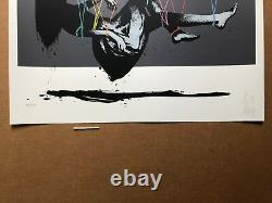 Suspender print by Eelus NEISB Graffiti Street Art Stencil screen print sold out