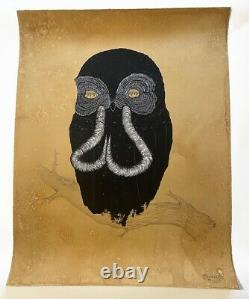 Swampy Print Owl Of Yawn Limited Edition Sold Out 2012