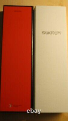 Swatch Art Special X Haring X Eclectic Mickey Suoz 336 Limited And Sold Out Nib