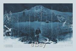 THE SHINING KRZYSZTOF DOMARADZKI MOVIE POSTER 24x36 (OUTDOORS) MONDO SOLD OUT