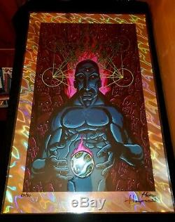 TOOL BAND SACRED-LACHRYMOLOGY LAVA FOIL POSTER- SOLD OUT Justin Hampton