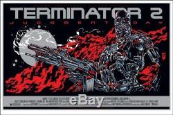 Terminator 2 by Ken Taylor Rare sold out Mondo