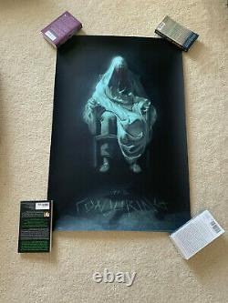 The Conjuring MONDO Poster Randy Ortiz SOLD OUT /225 Horror Annabelle James Wan