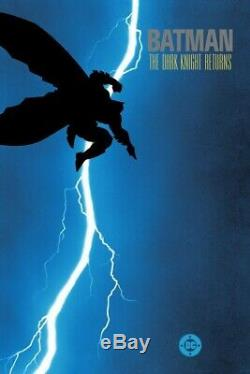 The Dark Knight Returns Mondo Frank Miller Xx/275 Sold Out Print Poster