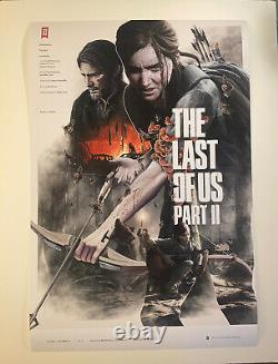 The Last Of Us Part 2 Art Print Mondo Giclee S/N AP Only 25! Sold Out! Kontou