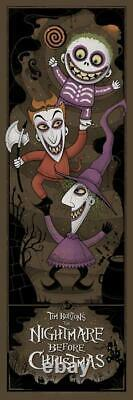 The Nightmare Before Christmas by Graham Erwin Mondo Disney SOLD OUT