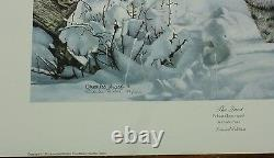 The Quest by Charles Frace Wildlife COA bobcat lynx Tennessee Artist Sold Out