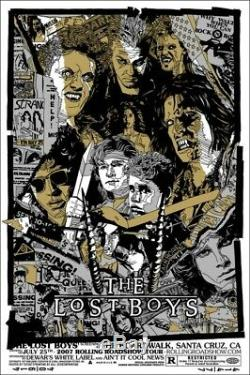 The lost boys by Tyler Stout Rare sold out Mondo print