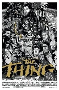 The thing by Tyler Stout Variant Rare sold out Mondo print