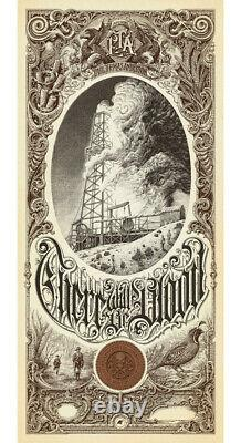 There will be blood by Aaron Horkey Regular S & N Mondo print sold out