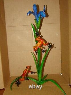 Tim Cotterill Iris-artist Proof #1-sold Out- Bronze Frog-rare