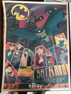 Timothy Anderson BATMAN ANIMATED SERIES Tim Print RARE /2 SOLD OUT Pink NOT PCC