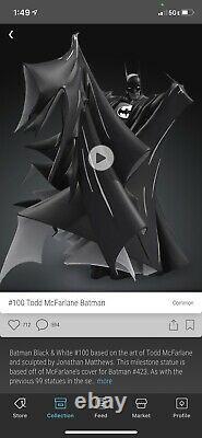 Todd Macfarlane Batman #100 SOLD OUT! Veve NFT 3D First Appearance #1674