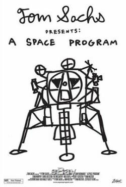 Tom Sachs A Space Program Poster Rare and Sold Out