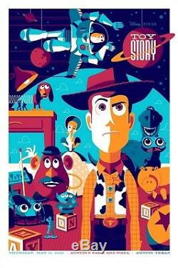 Toy story by Tom Whalen Variant Rare sold out Mondo print