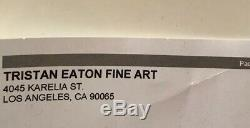 Tristan Eaton Lets Bang Art Print Sold Out Run Of 300 Kaws Obey Hush Street Art