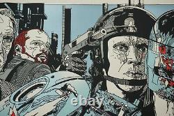 Tyler Stout Robocop Mondo Poster Signed Low Numbered Limited Edition Sold Out